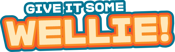 Give it some Wellie! logo